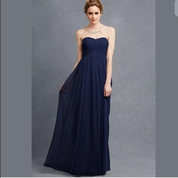 0d27c1fddb49 Donna Morgan Dresses   Felicity Midnight Blue Formal Dress 4   Poshmark